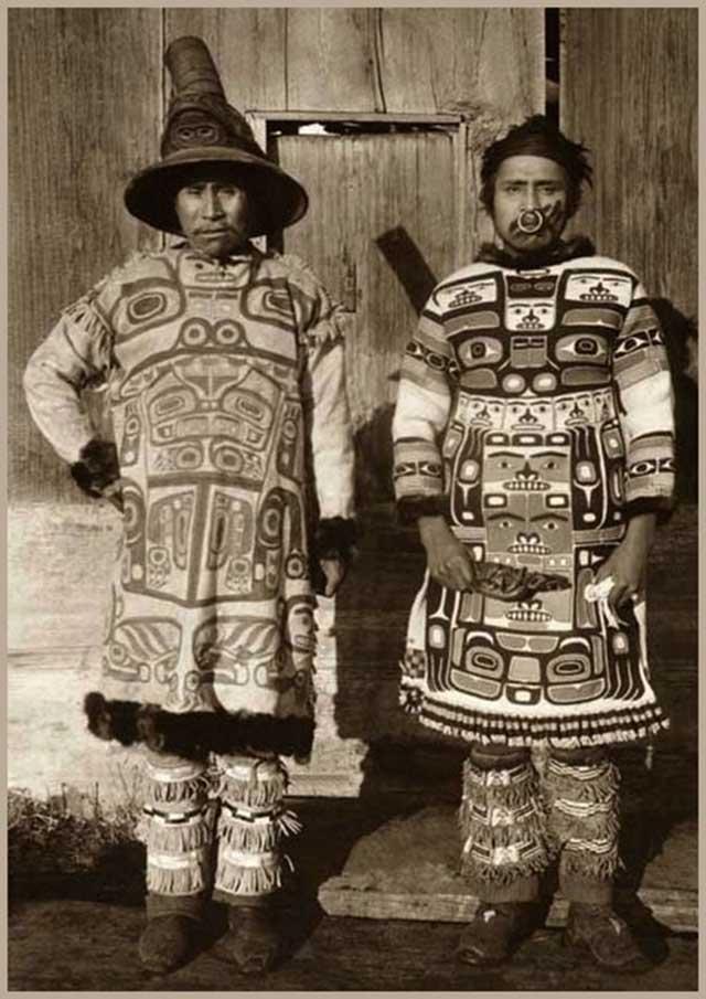 традиционные национальные костюмы инуитов