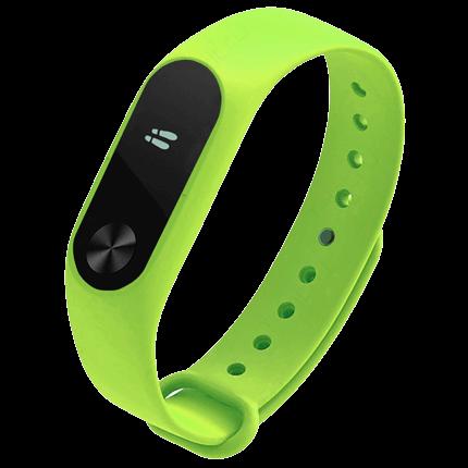 Умные часы Xiaomi Mi Band 2 Lime Green (Салатовый)