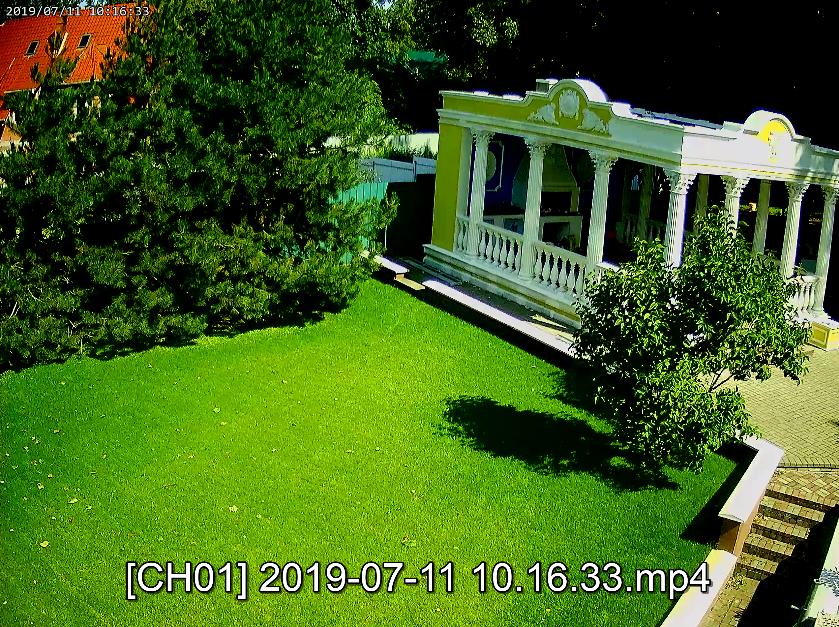 Изображение с видеокамеры CAICO 5Mpix