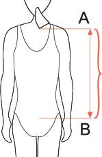 ПОдбор размера ортеза Dorso Osteo Care 50R20