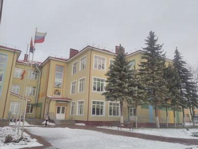 Здание дошкольного учреждения детского сада