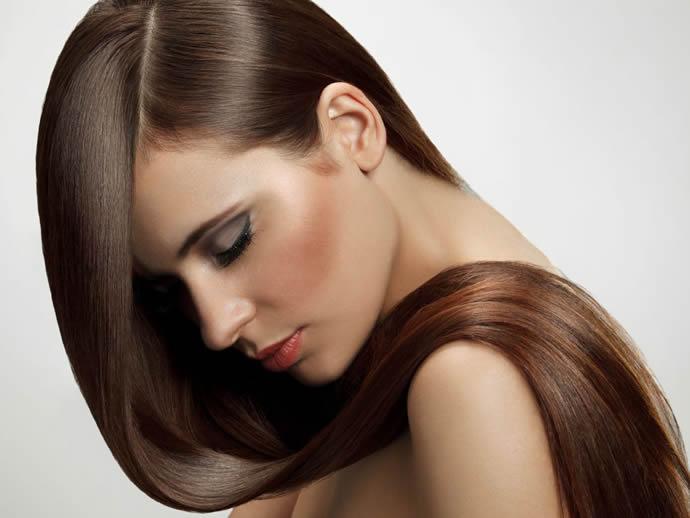 Как сделать волосы более блестящими