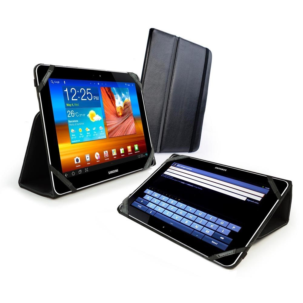 "Чехол для планшета Samsung Galaxy Tab 2 - 10.1 "" (P5113) Tuff-Luv Type-View Genuine Leather Case Cover"