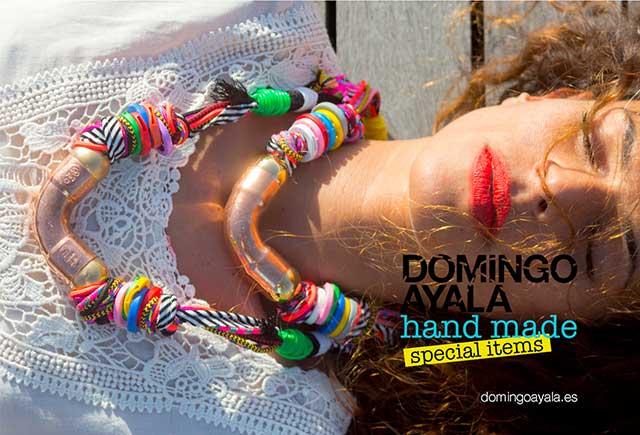 купите уникальные украшения от испанского бренда Domingo Ayala Handmade