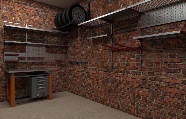 модульные системы хранения в гараже