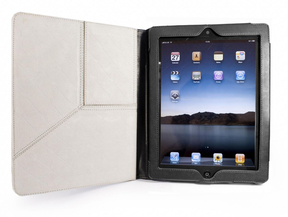 Чехол для планшета Apple iPad 2 and New iPad Tuff-Luv Tri-Stand Faux Leather Case Cover