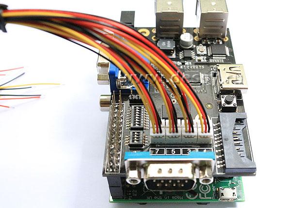 ULN2803 8-канальный RC SERVO PORT интерфейсного модуля X100 для Raspberry PI