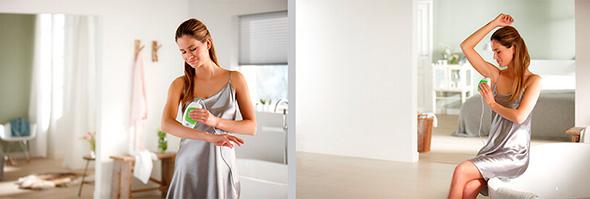 Использование фотоэпилятора Silk Glide 50K в домашних условиях