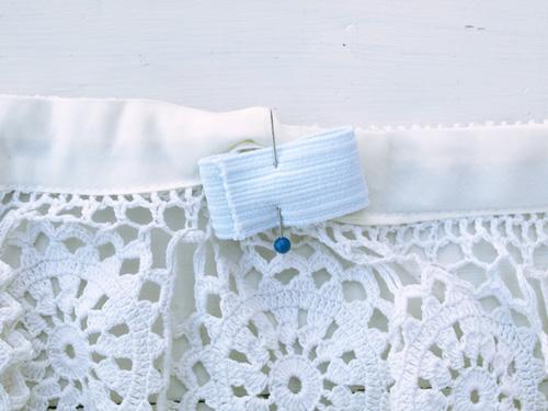 как сшить юбку из кружев