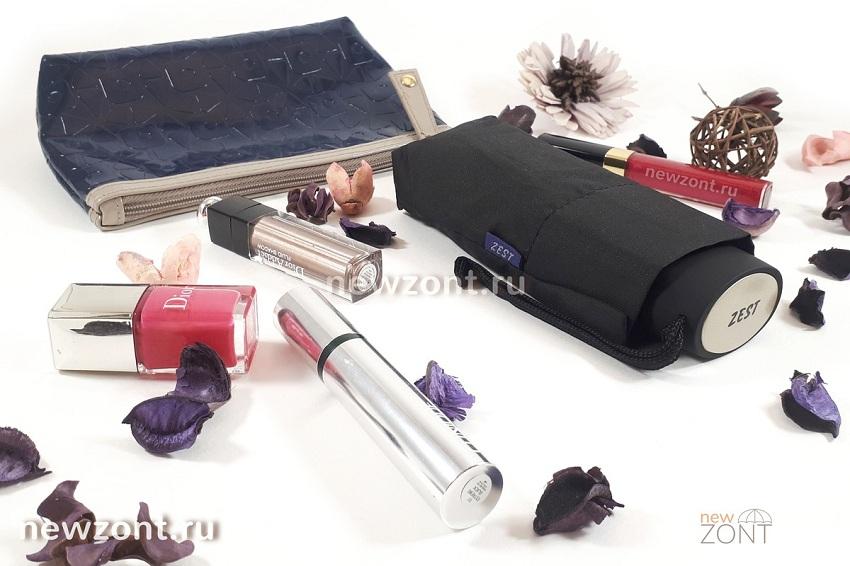 Женский плоский мини зонт Zest 45510