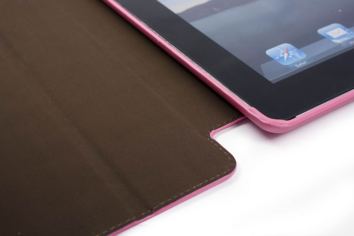 Чехол для планшета New Ipad 3 (Retina) Tuff-Luv Smart-Er Stasis Cover with Armour Shell Pink