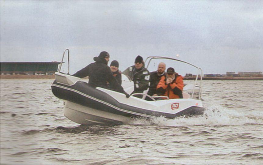Ходовые испытания РИБ Winboat R5