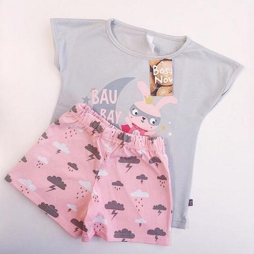 Детская пижама Bossa Nova для девочек Bau Bay купить в интернет-магазине Мама Любит!