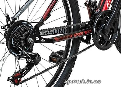 Трансмиссия на велосипеде