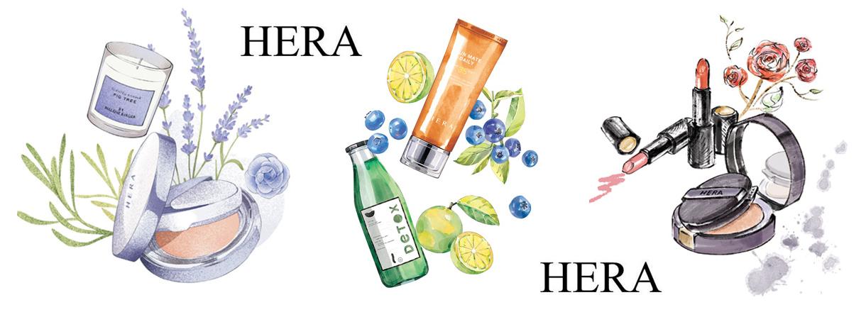 Раздел корейской косметики Hera