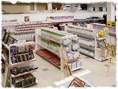 Магазин Хобби-Парк (г. Москва, м.Сокол). В этом магазине продается продукция Paperlove.