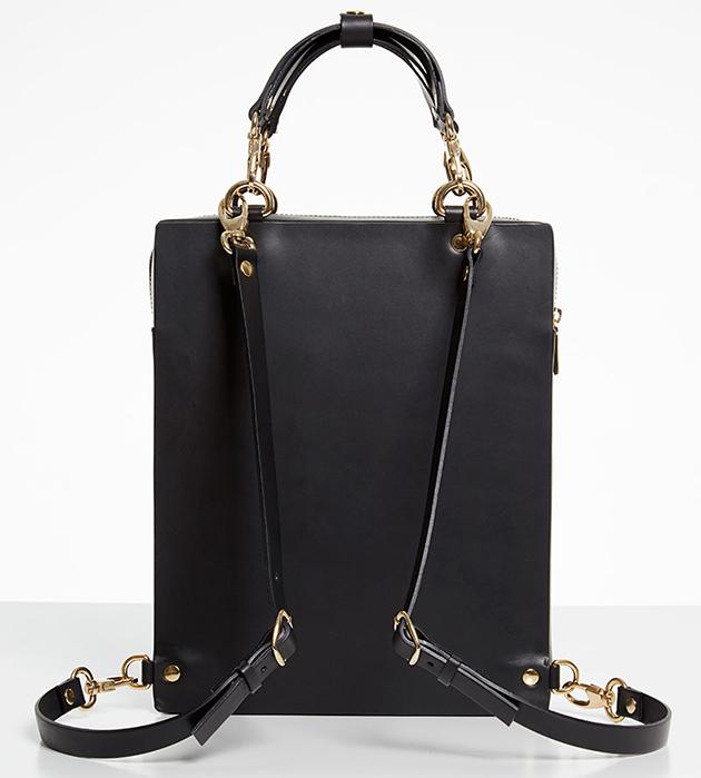 купите рюкзак с фарфоровой вставкой Lion Black от ANDRES GALLARDO