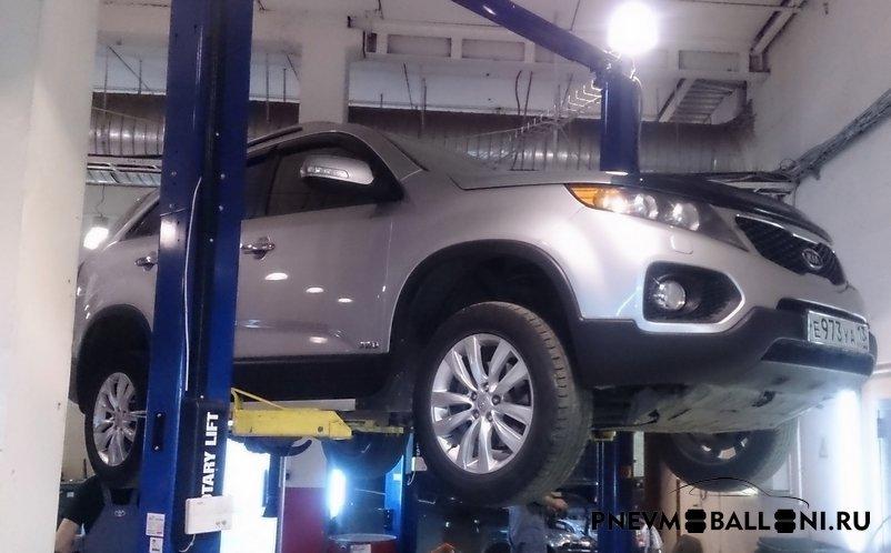 Пневмобаллоны в пружины Kia: купить пневмоподушки для Киа по низким ценам   Автопроставка