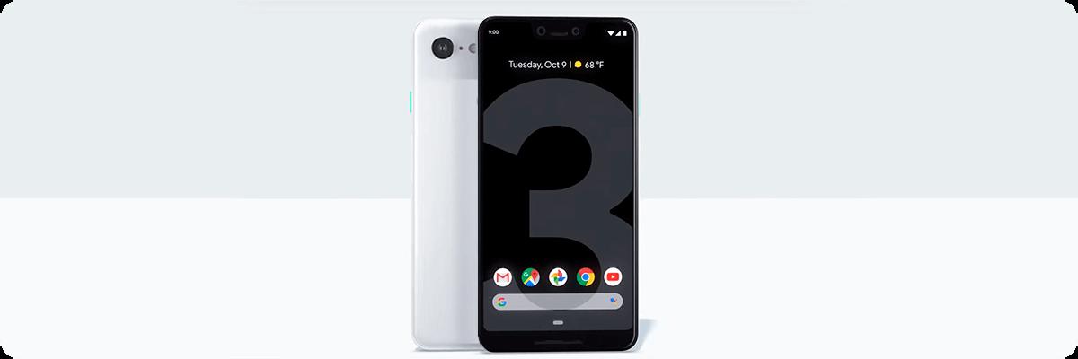 Google Pixel 3 дизайн