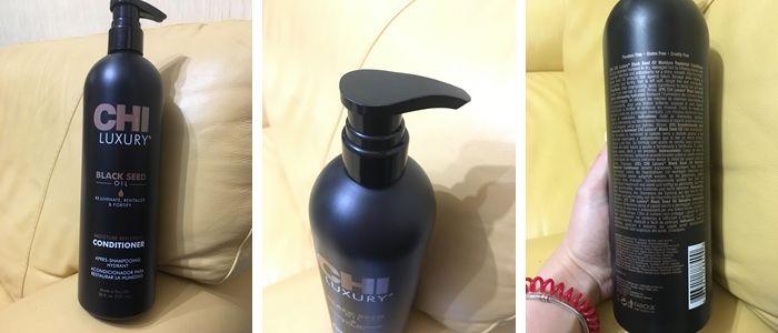 Фотообзор на кондиционер для волос CHI Luxury