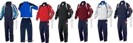 Спортивные костюмы от мировых брендов 3ba274a026770