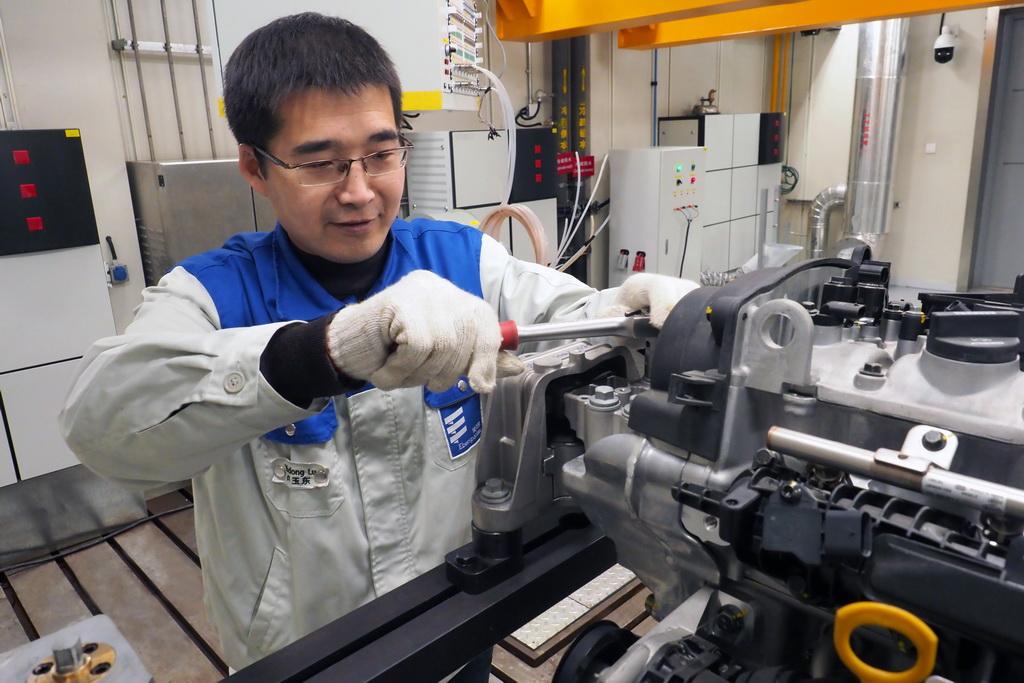 открытие испытательного центра eberspacher в Китае