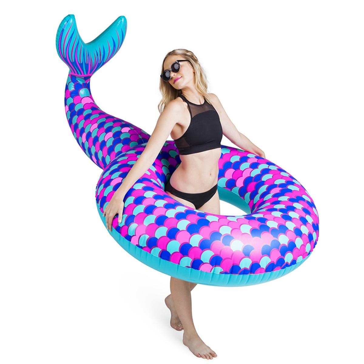 Надувной круг Хвост Русалки (Mermaid Tail)