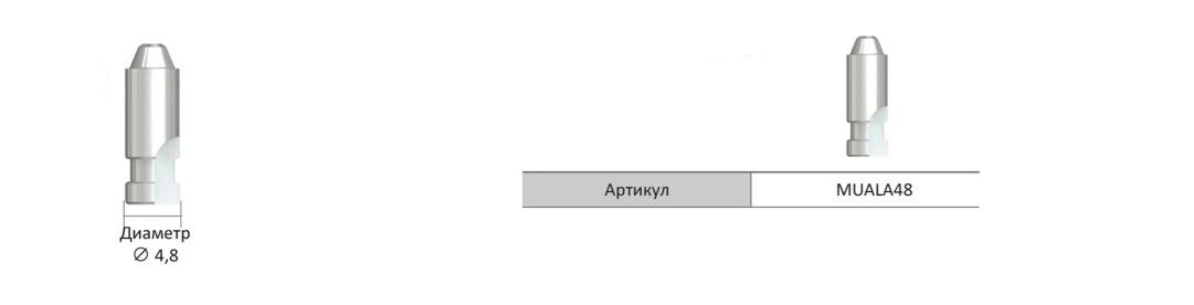 Аналог-Мультиюнит-абатмента