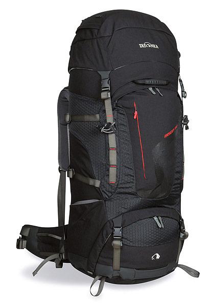 Достает из-за спины огромный рюкзак и открывает его терра нова рюкзак