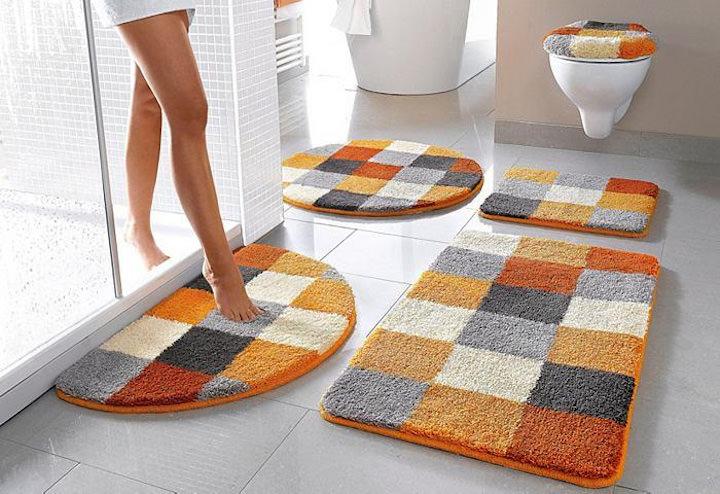 красивый текстиль для ванной икеа
