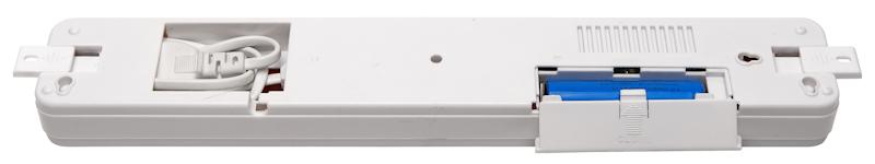 Аккумуляторный аварийный светодиодный светильник KL-60 - вид с обратной стороны
