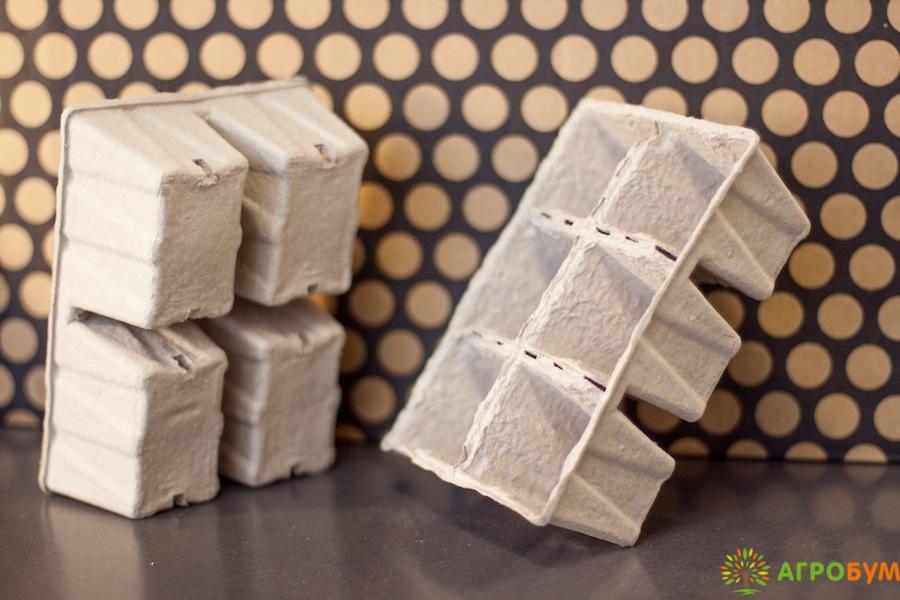 Бумажные горшки для рассады