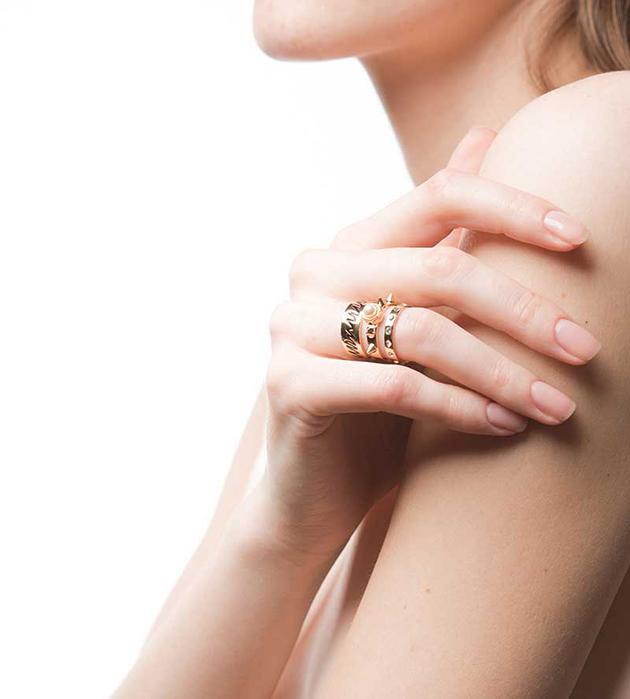 купите стильное украшение ручной работы Life Triple от Maria Francesca Pepe