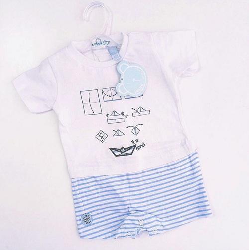 Детский комбинезон Losan для мальчиков Paper Boat купить в интернет-магазине Мама Любит!