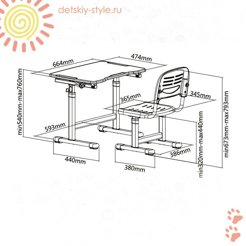 парта fundesk piccolino 2, комплект, купить, цена, фан деск, заказать, отзывы, бесплатная доставка, стол со стулом, детская парта фандеск пиколино 2 со стулом, заказ, гарантия, интернет магазин, официальный дилер