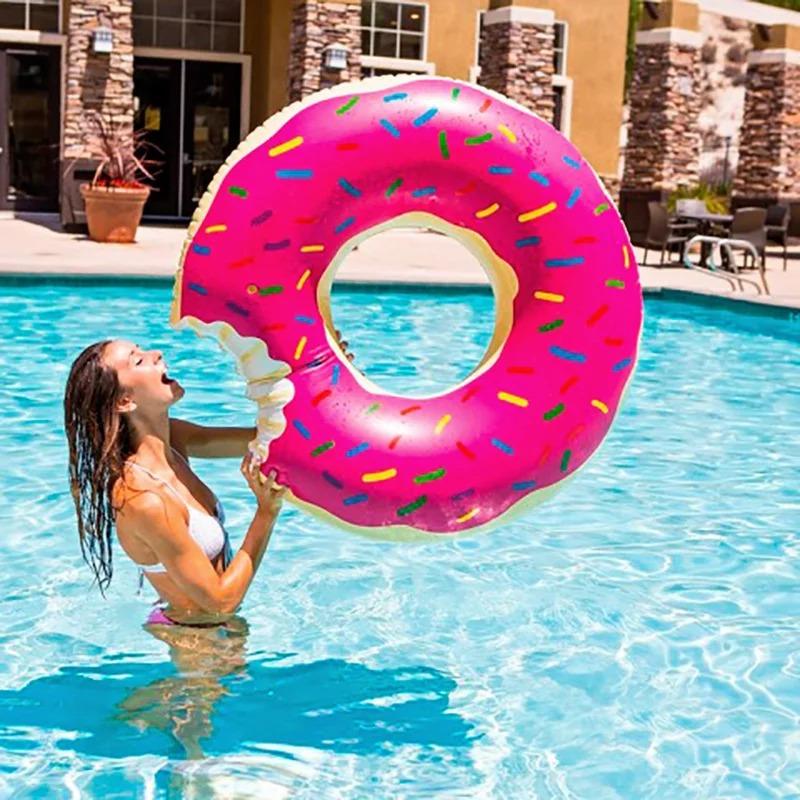 Надувной круг Пончик (Donut) - 90 см