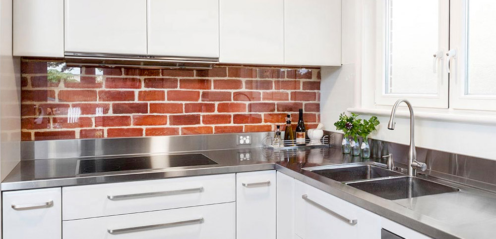Клинкерная плитка на кухне