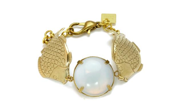 Купите браслет с лунным камнем от Beatriz Palacios