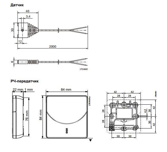 Размеры Siemens QFP910