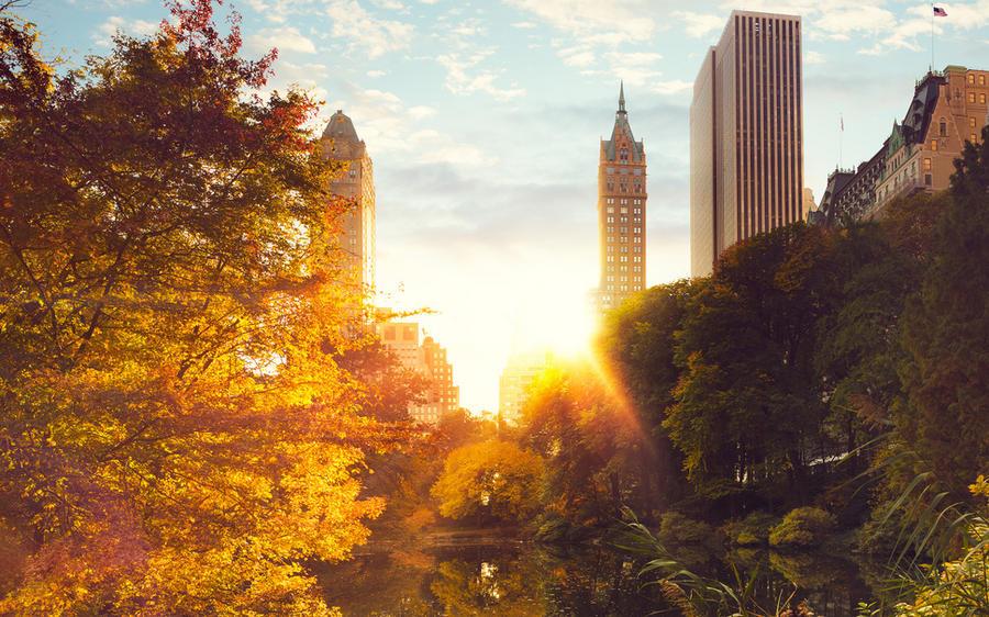 осенний Нью-Йорк