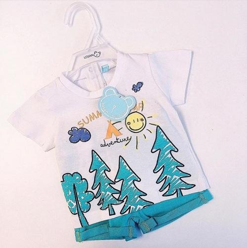 Детский комплект Losan для мальчиков Summer Camp купить в интернет-магазине Мама Любит!