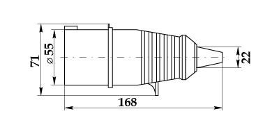 Вилка ССИ-015 габарит