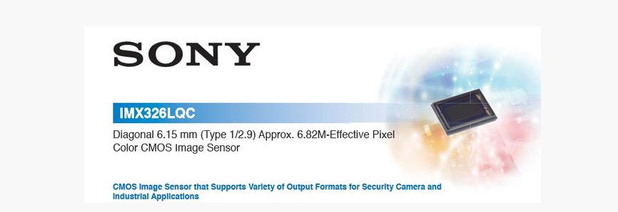 SONY IMX 326 CAICO-TECH AHD 5.0Mp