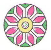 Орнамент Цветок Эльхэль