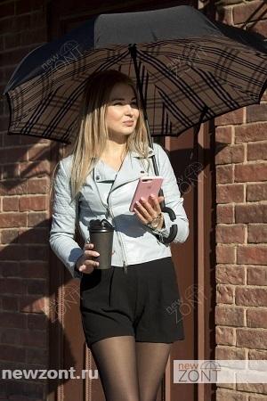 Фотографии сайта НьюЗонт.ру - девушка с зонтом наоборот