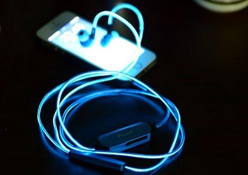 Светящиеся наушники iGlow