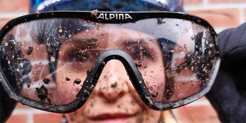 Защита глаз от брызг и грязи