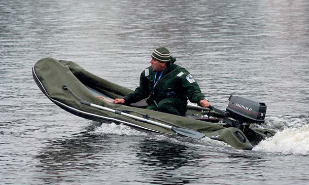 Тест складных рибов Катера и Яхты