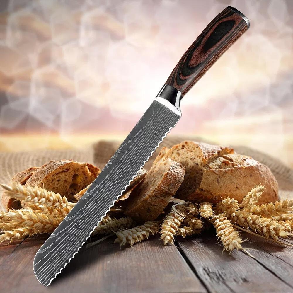 Зубчатые ножи для нарезки хлеба