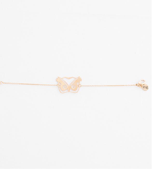 купите изящный браслет с подвеской-совой от Chic Alors-Paris